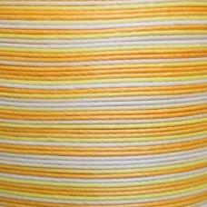 Нитки для кожи льняные MeiSi Super Fine MS073 (Gradient Yellow) M40 = 0.45 мм. 90 м.