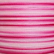 Нитки для кожи льняные MeiSi Super Fine MS074 (Gradient Pink) M40 = 0.45 мм. 90 м.
