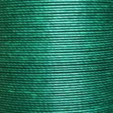 Нитки для кожи льняные MeiSi Super Fine MS076 (Forest Green) M40 = 0.45 мм. 90 м.
