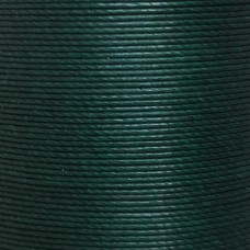 Нитки для кожи льняные MeiSi Super Fine MS077 (Deep Green) M40 = 0.45 мм. 90 м.