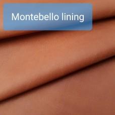 Кожа подкладочная итальянская Montebello lining 0.5 мм. отрез 49х75 см.
