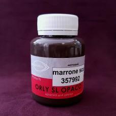 Краска для уреза кожи ORLY OPACO 100 гр. Матовый тёмно-коричневый.