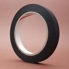 Киперная лента - лента для укрепления кожи 50 м. нейлон чёрный 10 мм.
