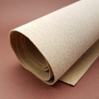 Дублирующий материал - нетканый вискозный материал, беж 0.75 мм. 50х150 см.