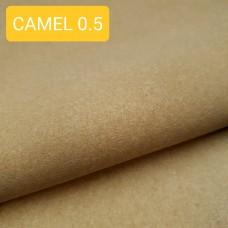 Дублирующий материал - нетканый вискозный материал, бежевый 0.5 мм. 40-50х150 см.