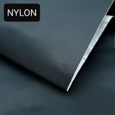 Дублирующий материал NYLON - листовой нейлон самоклеющийся чёрный 45-50х150 см.
