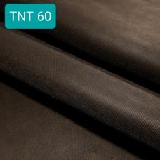 Дублирующий материал - нетканый вискозный структурированный материал, чёрный 50х150 см.