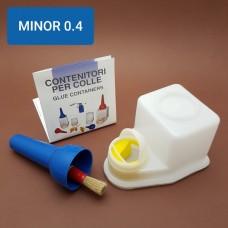 Контейнер для клея MINOR 0.4 профи серия, Италия.
