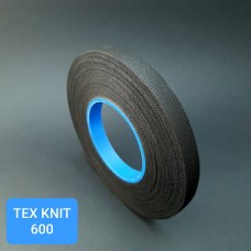 Киперная лента TEX KNIT - лента для укрепления кожи 50 м. чёрный 15 мм.