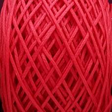 SLAM нитки для кожи. 30 м. 0.8 мм. Цвет - красный.