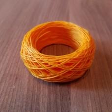 SLAM нитки для кожи. 30 м. 0.6 мм. GIALLO - жёлтый.