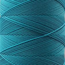 SLAM нитки для кожи. 30 м. 0.6 мм. TURCHESE - бирюзовый.