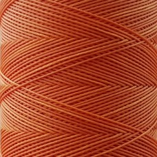 SLAM нитки для кожи. 30 м. 0.6 мм. MANDARINO - оранжевый.