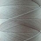 SLAM нитки для кожи. 30 м. 0.6 мм. ACCIAIO - стальной (светло-серый).