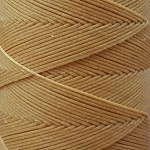 SLAM нитки для кожи. 30 м. 1.0 мм. CIPRIA - пудра загар.