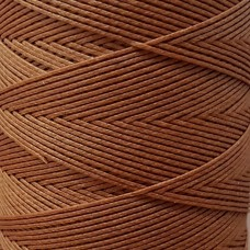 SLAM нитки для кожи. 30 м. 0.8 мм. RUGGINE - красно-бурый.