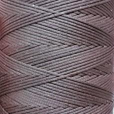 SLAM нитки для кожи. 30 м. 1.0 мм. MARRONE - коричневый.