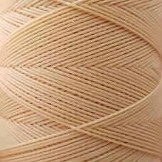 SLAM нитки для кожи. 30 м. 0.6 мм. PAGLIA - бежевый (солома).