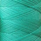 SLAM нитки для кожи. 30 м. 0.6 мм. MALACHITE - зелёный малахит.