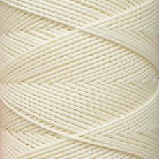 SLAM нитки для кожи. 30 м. 0.8 мм. PANNA - кремовый.