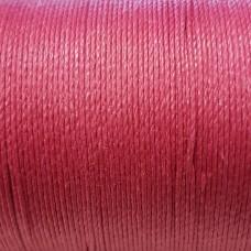 Нитки для кожи льняные LIN CABLE 0.77 мм., фирменная катушка 133 метра. Цвет BOIS DE ROSE.