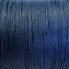 Нитки для кожи льняные LIN CABLE 0.77 мм., фирменная катушка 133 метра. Цвет NUIT.