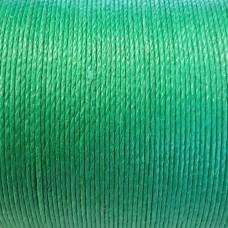 Нитки для кожи льняные LIN CABLE 0.77 мм., фирменная катушка 133 метра. Цвет GAZON.