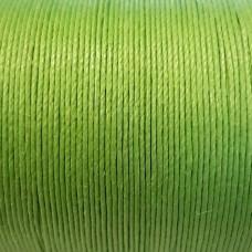 Нитки для кожи льняные LIN CABLE 0.77 мм., фирменная катушка 133 метра. Цвет VERT CLAIR.