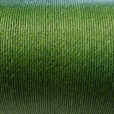 Нитки для кожи льняные LIN CABLE 0.77 мм., фирменная катушка 133 метра. Цвет CHARTREUSE.