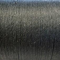 Нитки для кожи льняные LIN RETORS 0.60 мм., фирменная катушка 265 метров. Цвет GRIS TRES FONCE.