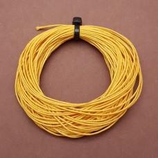 Нитки для кожи льняные LIN CABLE 0.77 мм., 10 м. Цвет JAUNE.