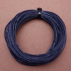 Нитки для кожи льняные LIN CABLE 0.77 мм., 10 м. Цвет MATELOT.