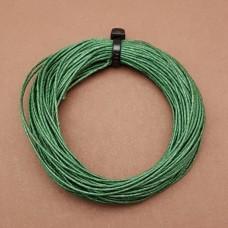 Нитки для кожи льняные LIN CABLE 0.77 мм., 10 м. Цвет VERT.