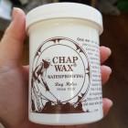 Воск защитный для изделий из кожи, влагостойкий Chap Wax США.