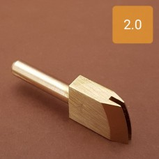 Насадка на паяльник для обработки кожи, биговка 2.0 мм.