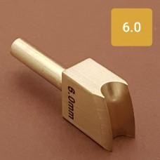 Насадка на паяльник для обработки кожи, биговка 6.0 мм.