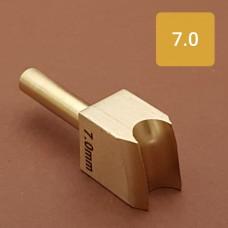 Насадка на паяльник для обработки кожи, биговка 7.0 мм.