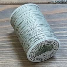 Нитки для кожи PEACOCK натуральная глазированная РАМИ! Катушка 0.7 мм. х 100 м. Цвет серый №20.