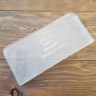Шаблон трафарет (выкройка) из оргстекла для вшивания молнии (до 50 см.) в кошелёк.