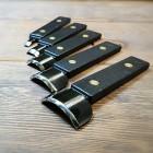 Набор лопаток-отсекателей для скругления углов кошельков и обложек 5 шт.
