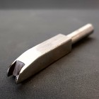 Насадка для биговки на паяльник (1 штука) 4.0 нерж. сталь.