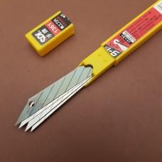 Запасные лезвия для нож для кожи Locking Craft Knife - 10 штук 30 градусов.