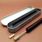 Машинка ручка для нанесения краски на урез. Красильная машинка для уреза погружная в кейсе ПРОФИ.