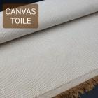 Универсальный материал - канвас FRENCH TOILE однослойный светло-коричневый.