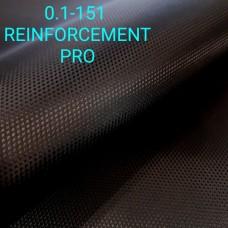 Дублирующий материал - нейлон PRO самоклеющийся ультратонкий чёрный с узором 50х140 см.