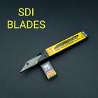 Запасные лезвия для нож для кожи Locking Craft Knife - 10 штук 30 градусов. Чёрные!