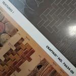 "Шаблон трафарет CRAFTAID Tandy + иллюстрация. ""Текстуры №76634""."