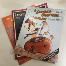 Книга (журнал с выкройками) The Leather Crafters & Saddlers Journal на английском языке, 80 страниц. Volume 8 №2 Mar/Apr 1998.