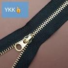 Молния YKK Standard Polished single №3 20 см. латунь чёрный цвет. ПРОМО!
