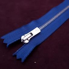 Молния YKK №2 Excella  20 см. Синий\антиникель.